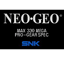 NEO GEO Screen Photographic Print