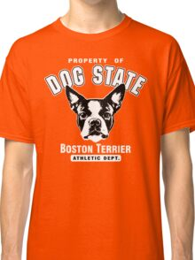 Dog State Boston Terrier Classic T-Shirt