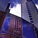 Melbourne Skyscrapers by John Violet