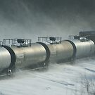 Trains have come to a hault.... by jeanlphotos