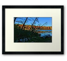 Fall In Wisconsin Framed Print