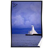 Port Stanley Lighthouse Poster