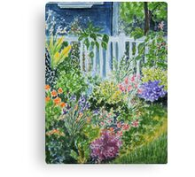 Summergarden Canvas Print