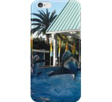 Leaping Dolphins iPhone Case/Skin