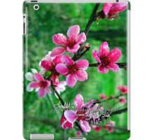 peach blossums iPad Case/Skin