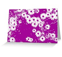 If flowers were stars Greeting Card