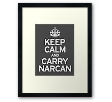 Carry Narcan Framed Print