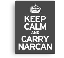 Carry Narcan Canvas Print