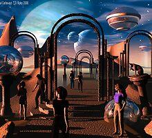 Interdimensional Castaways by Dreamscenery