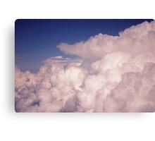 Bubbling Storm Clouds Canvas Print
