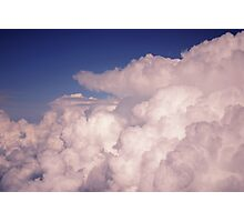 Bubbling Storm Clouds Photographic Print