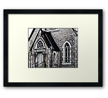 Maine Historic Library Framed Print