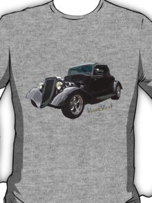 34 Ford Coupe in Black T-Shirt T-Shirt