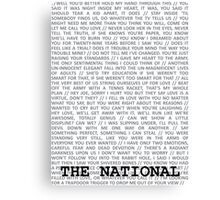 The National Typography Canvas Print