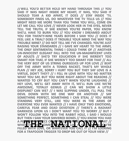 The National Typography Photographic Print