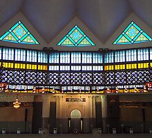 National Mosque in KL by Carmel Abblitt