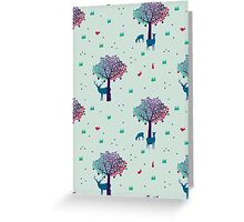 A Walk in the Mystic Forest  Greeting Card