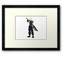 Cloud (FF7) Framed Print