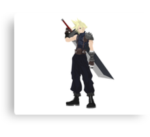 Cloud (FF7) Canvas Print