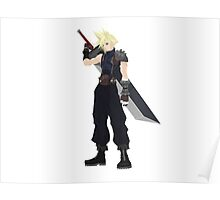 Cloud (FF7) Poster