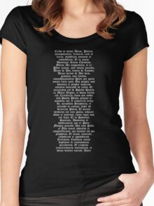 Credo in unum Deum Women's Fitted Scoop T-Shirt