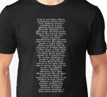 Credo in unum Deum Unisex T-Shirt