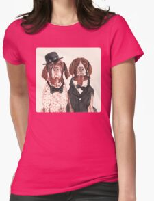 F.I.P. @ifitwags (The pointer brothers) Womens Fitted T-Shirt