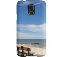 Cape Cod Summer Beach Scene Samsung Galaxy Case/Skin