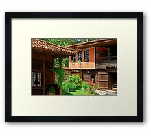 Traditional house in Koprivshtitsa, Bulgaria Framed Print