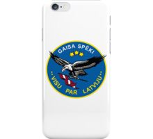 Emblem of the Latvian Air Force iPhone Case/Skin