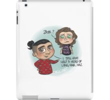 Long Hair Squad iPad Case/Skin
