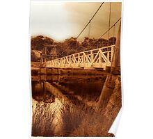 """The Swing Bridge"" Poster"