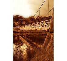 """The Swing Bridge"" Photographic Print"
