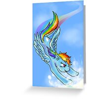 Rainboom Greeting Card