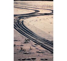 path crossing Photographic Print