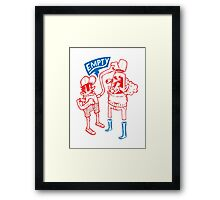You Are Empty!  Framed Print