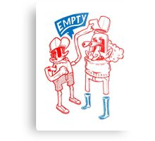 You Are Empty!  Metal Print