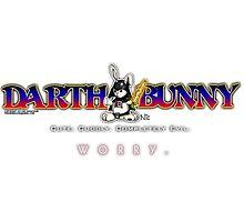 Darth Bunny Photographic Print
