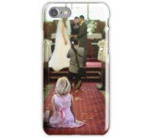 Young Girl at a Wedding  iPhone Case/Skin