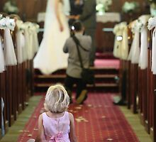Young Girl at a Wedding  by RickLionheart