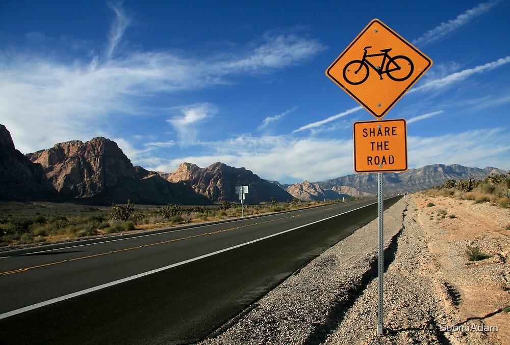 Share the Road, Nevada 2007 by SuomiAdam