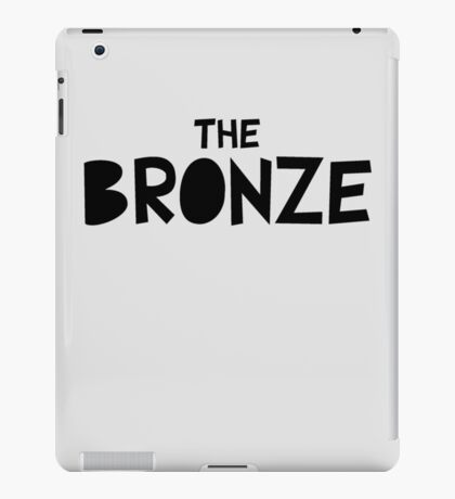 The Bronze (Buffy) iPad Case/Skin