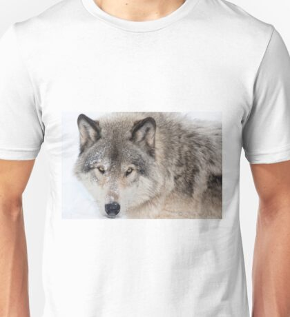 ...hypnotic wolf eyes... Unisex T-Shirt