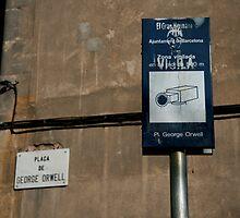 George Orwell Plaza, Barcelona 2007 by SuomiAdam