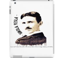 nikola tesla axiom iPad Case/Skin