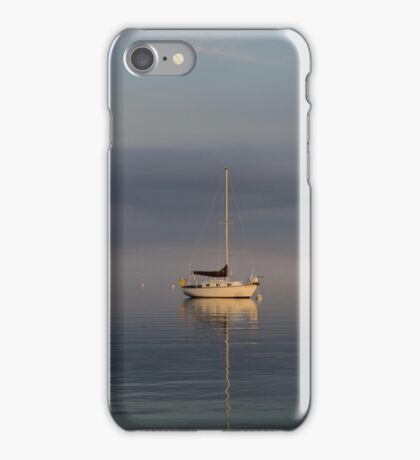 Sail Boats at Rest iPhone Case/Skin