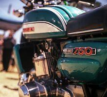 Suzuki GT750 by Brett Rogers
