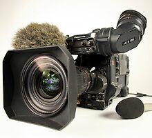 Panasonic professional video camera by peteroxcliffe