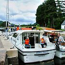 A busy day at Laggan Lock on the Caledonian Canal, Scotland........! by Roy  Massicks