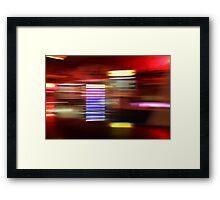 bar moves Framed Print